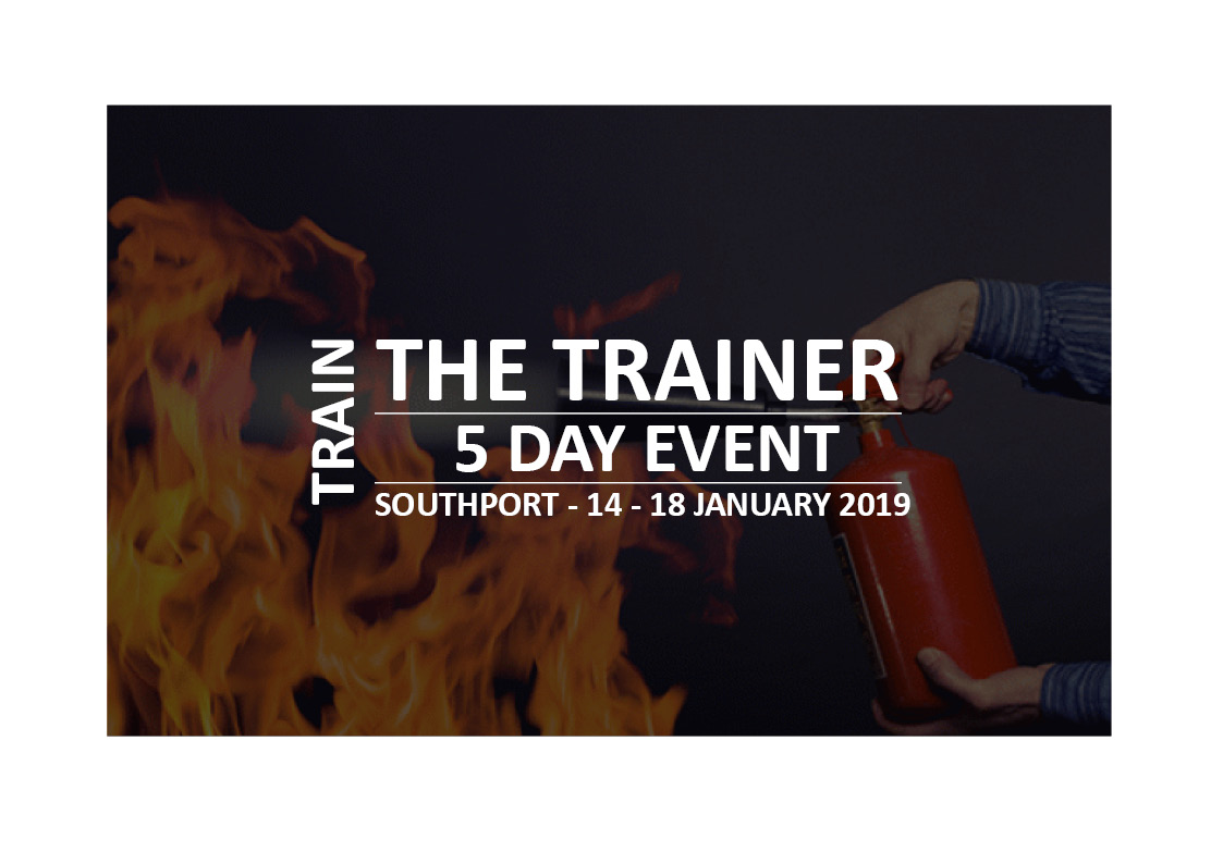 5 day Train the Trainer event in Southport (14th - 18th January 2019)